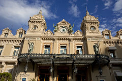 Grand Casino in Monte Carlo, Monaco. historical building Royalty Free Stock Photos
