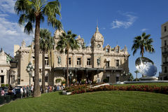 Grand Casino in Monte Carlo, Monaco. historical building Stock Photography