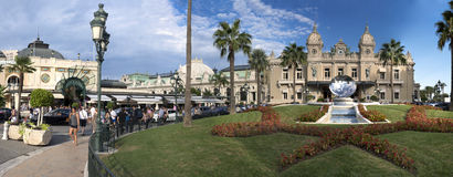 Grand Casino in Monte Carlo, Monaco. historical building Royalty Free Stock Image
