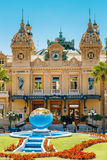 Grand casino in Monte Carlo in Monaco Stock Photography