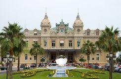 Grand Casino in Monte Carlo, Monaco. Royalty Free Stock Photos