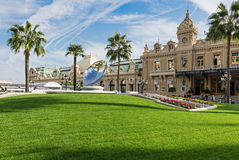 Grand Casino in Monte Carlo, Monaco Royalty Free Stock Photos