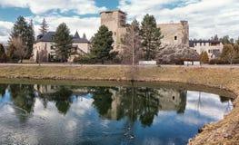 Grand castle in Liptovsky Hradok, Slovakia Royalty Free Stock Photography