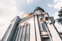 The Grand Cathedral Mosque in Moscow Stock Photography