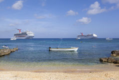 Free Grand Cayman Boats Royalty Free Stock Photo - 52436245