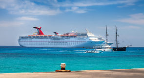 Grand Cayman Harbor Royalty Free Stock Images