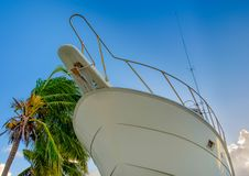 Grand Cayman-Havenhuis Marina Yacht stock foto's