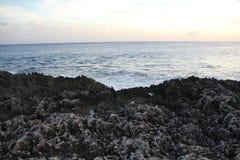Grand Cayman island beach royalty free stock photo