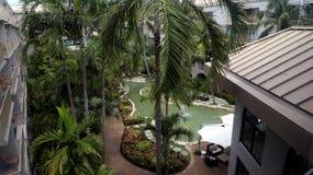 Grand Cayman Island_Grand Kaiman Marriott-Strandurlaubsort auf sieben Miles Beach in Georgetown Stockfotografie
