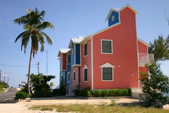 Grand Cayman Island Villas. Rebuilding homes on the Grand Cayman Islands after the Hurricane Stock Photo