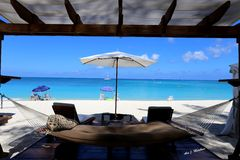 Grand Cayman Islands 7 Mile Beach Royalty Free Stock Photography