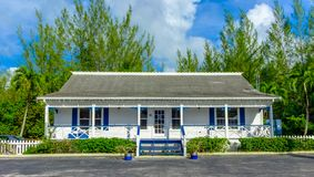 Grand Cayman Real Estate kontor arkivbilder
