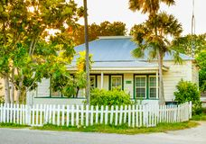Grand Cayman-West Bay-House stock photography