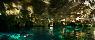 Grand Cenote in Mexico. Grand Cenote. This is one of the most famous cenotes in Mexico royalty free stock photos