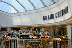 Grand Central cafe, Birmingham. Stock Images