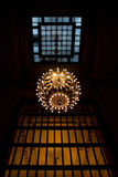 Grand Central Chandelier Stock Image