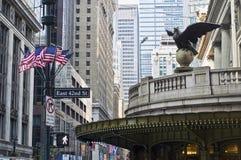 Grand Central Corner Royalty Free Stock Photos