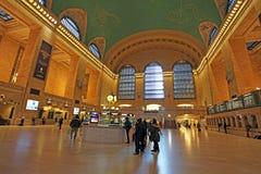 Grand Central järnvägsstationinre, New York, USA Royaltyfria Foton