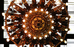Grand Central Light. One of Grand Central`s station light fixtures Stock Photos