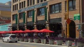 Grand Central -Markt in Los Angeles Van de binnenstad stock footage