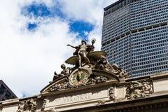 Grand_Central_New Υόρκη Στοκ εικόνα με δικαίωμα ελεύθερης χρήσης