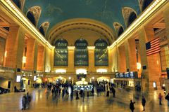 Grand Central, New York Stock Foto