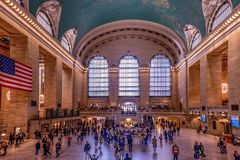 Grand Central New York City Royaltyfri Foto