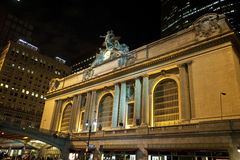 Grand Central at night Royalty Free Stock Photo