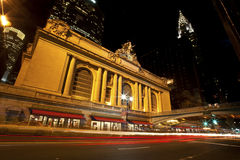 Grand Central at night Stock Images