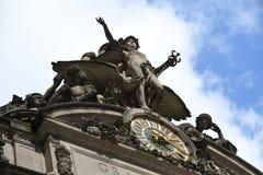 Grand Central -Post in de Stad die van New York wordt gevestigd royalty-vrije stock fotografie