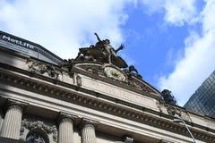 Grand Central -Post in de Stad die van New York wordt gevestigd royalty-vrije stock afbeeldingen