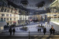 Grand Central -Postingang in de Stad van Birmingham royalty-vrije stock fotografie
