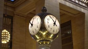 Grand Central railway station. Indoors stock video