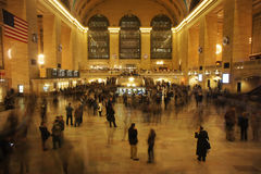 Grand Central Rush Royalty Free Stock Images
