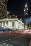 Grand Central slutlig fasad från Park Avenue Royaltyfri Bild