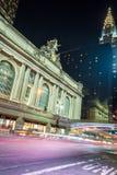 Grand Central slutlig fasad från Park Avenue Arkivfoto