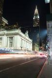 Grand Central slutlig fasad från Park Avenue Arkivfoton