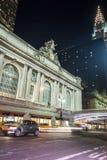 Grand Central slutlig fasad från Park Avenue Royaltyfri Foto