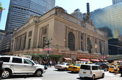 Grand Central Station. Taken from the corner of Vanderbilt Avenue and East 42nd Street Stock Images