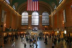 The Grand central station Royalty Free Stock Photo
