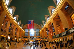 Grand Central Station. Indoor shot of the Grand Central Railway Station in New York. Designed in Beaux Arts architectural style