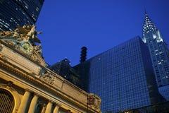 Grand Central Station, Chrysler Royalty Free Stock Image