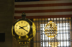 Grand Central Station Clock Stock Photography