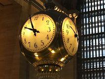 Grand Central Station Clock. Clock in Grand Central Station New Royalty Free Stock Photography