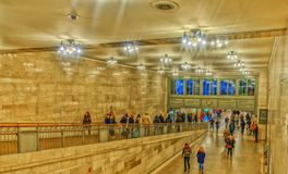 Grand Central Station-Corridor royalty free stock images