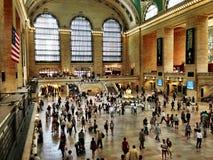 Grand Central Station, de Stad van New York, New York stock foto's