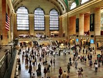 Grand Central Station, de Stad van New York, New York royalty-vrije stock afbeeldingen
