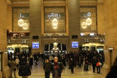 Grand Central Station. New York Stock Photos