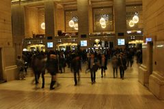 Grand Central Station. New York Stock Image