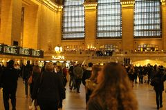 Grand Central Station. New York Royalty Free Stock Images